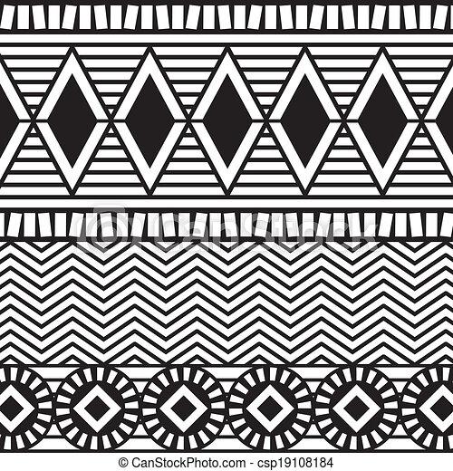 áfrica, desenho - csp19108184