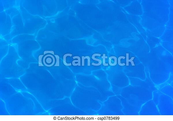 água, abstratos - csp0783499