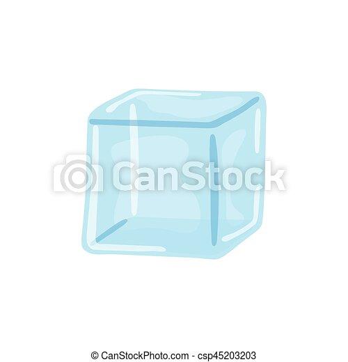 Agua Cubo Gelo Vetorial Grafico Ilustracao Agua Cubo