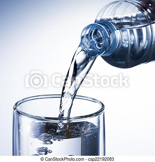 água, despeje - csp22192083