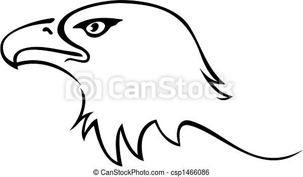 Tatuaje de águila - csp1466086