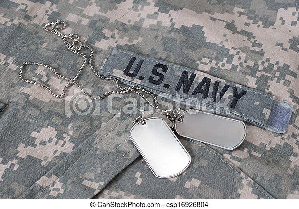 álcáz, nappal, kutya, bennünket, egyenruha, tiszta, haditengerészet - csp16926804