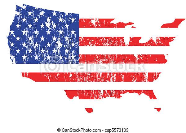 állhatatos, klasszikus művek, zászlók, usa - csp5573103