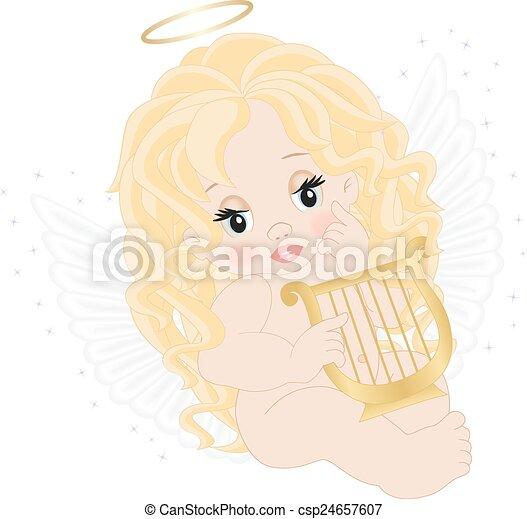 Pequeño ángel - csp24657607
