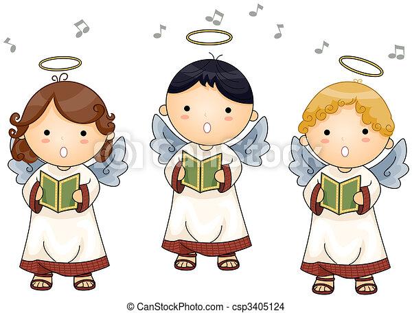 ángeles, canto - csp3405124