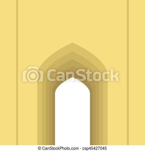 Arco árabe - csp45427045