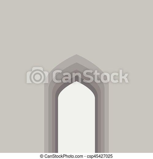 Arco árabe - csp45427025