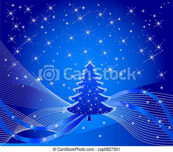 Árbol de Navidad - csp0827301