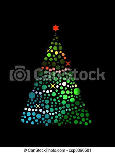 Árbol de Navidad - csp0890581