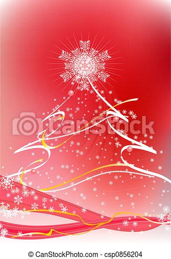 Árbol de Navidad - csp0856204