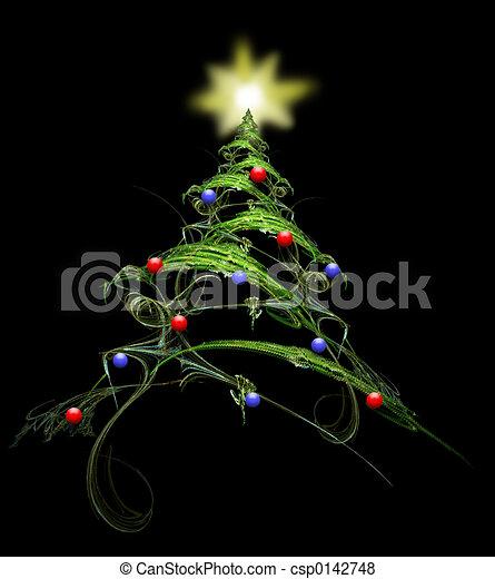 El árbol de Navidad - csp0142748