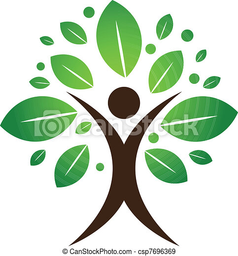 Árbol humano - csp7696369