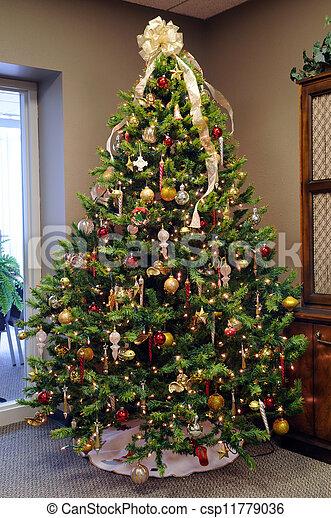 Árbol de Navidad - csp11779036