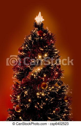 Árbol de Navidad - csp6402523