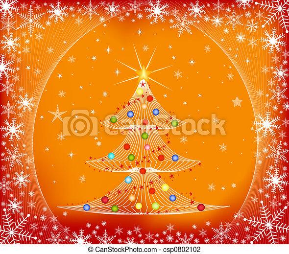 Árbol de Navidad - csp0802102