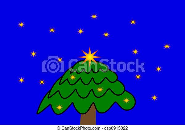 Árbol de Navidad - csp0915022