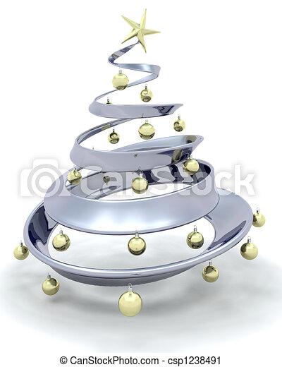 Árbol de Navidad - csp1238491