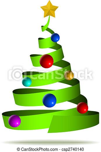 Árbol de Navidad - csp2740140