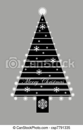 árbol, navidad - csp7791335