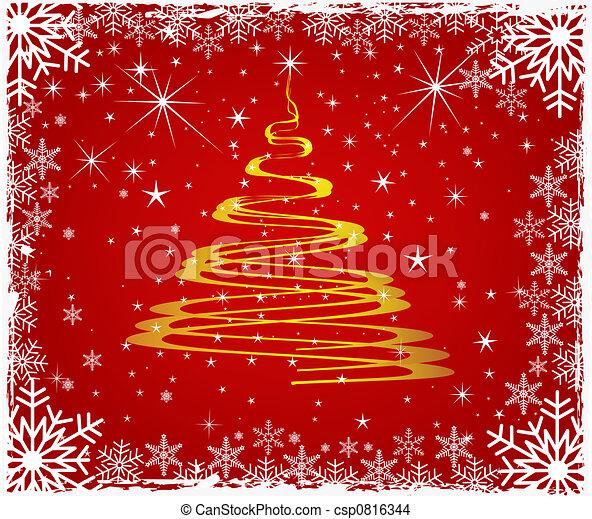 Árbol de Navidad - csp0816344
