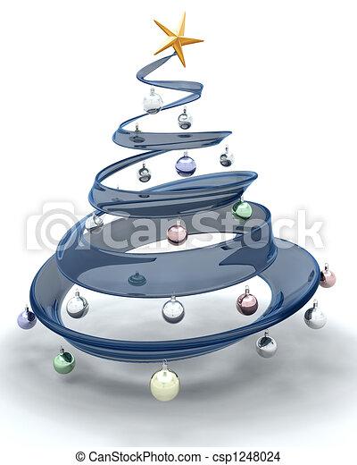 Árbol de Navidad - csp1248024
