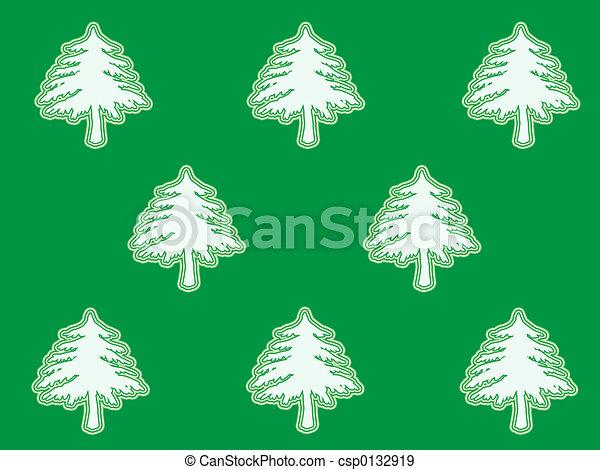 Árbol de Navidad - csp0132919