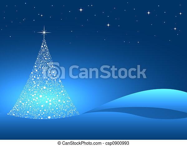Árbol de Navidad - csp0900993