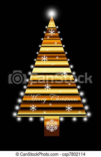 árbol, navidad - csp7802114
