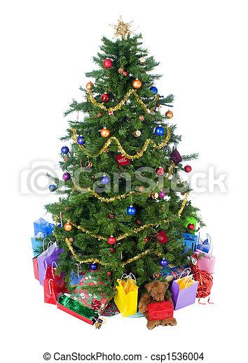 Árbol de Navidad - csp1536004