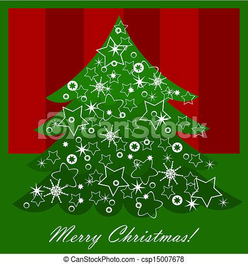Árbol de Navidad - csp15007678