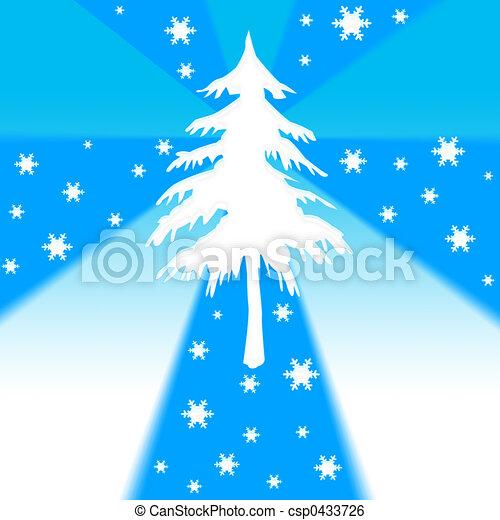 Árbol de Navidad - csp0433726