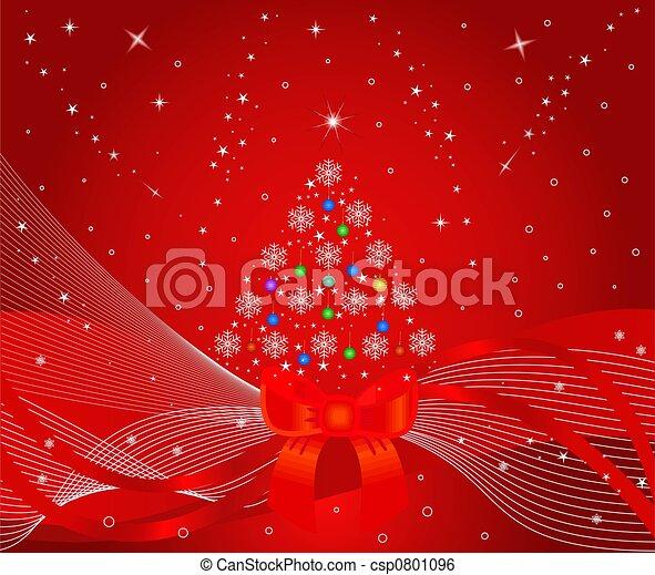 Árbol de Navidad - csp0801096