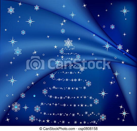 Árbol de Navidad - csp0808158