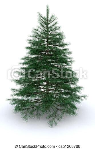Árbol de Navidad - csp1208788