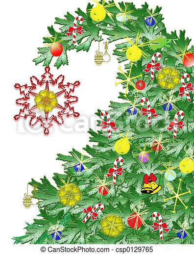 Árbol de Navidad - csp0129765