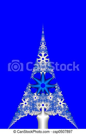 Árbol de Navidad - csp0507897