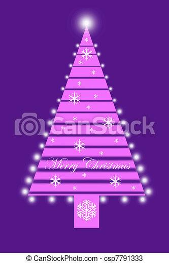 árbol, navidad - csp7791333