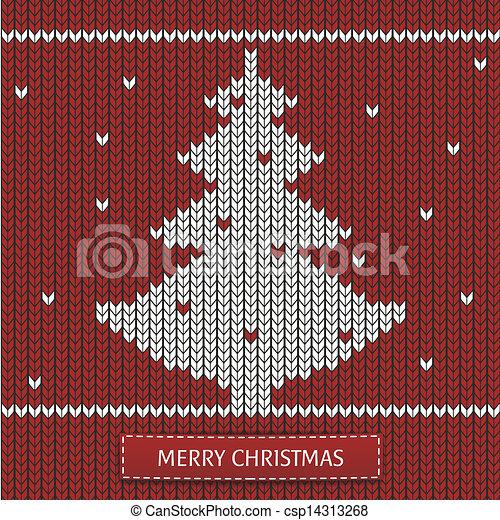 Árbol de Navidad con adornos - csp14313268