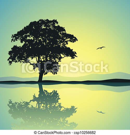 Árbol solitario - csp10256682
