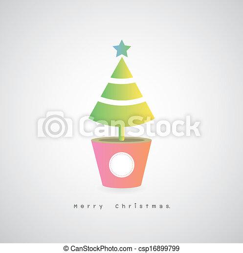 Un árbol de Navidad - csp16899799