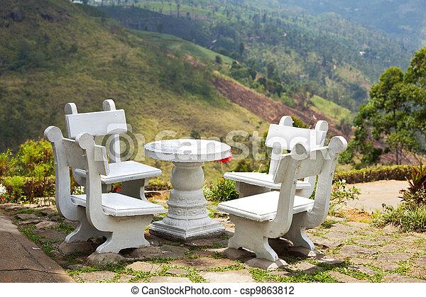 Área de picnic - csp9863812