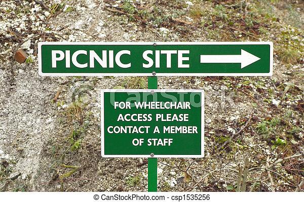 Área Picnic - csp1535256