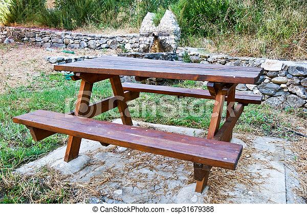 Área de picnic - csp31679388
