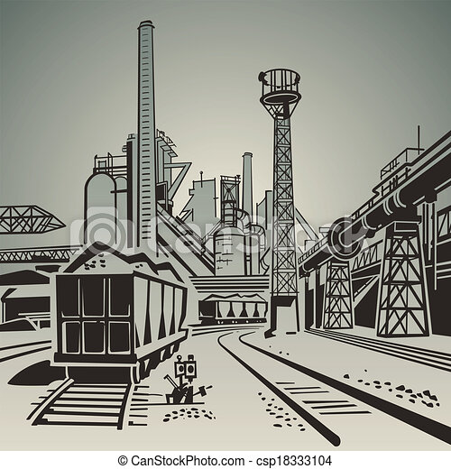 Zona industrial - csp18333104