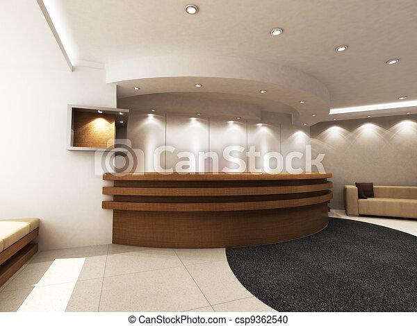 Área de recepción - csp9362540