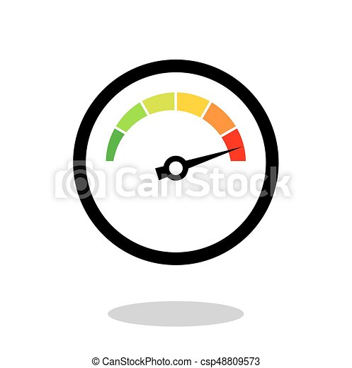 árnyék, csepp, sebességmérő, elszigetelt, fehér - csp48809573