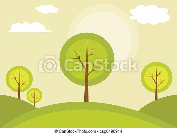 árvore, abstratos - csp6498914