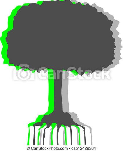 árvore, arte - csp12429384