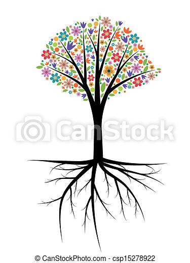 árvore, ilustração - csp15278922