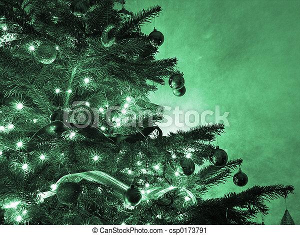 árvore, natal - csp0173791